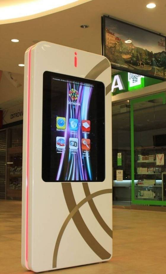 Port Łódź Shopping Center - Kiosks